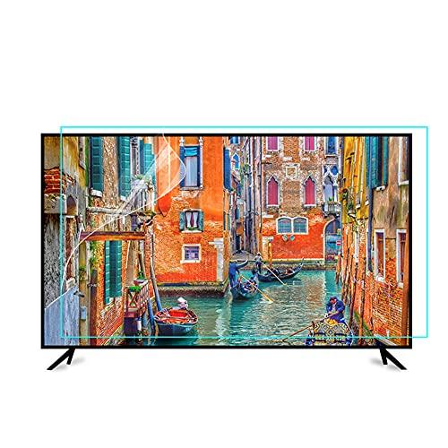 WSHA Protector de Pantalla de TV de 60 Pulgadas Película Anti Azul Anti Radiación Anti Glare Súper Claro Filtro de película para LCD, LED, 4K OLED Y Pantalla CURDADA,60'(1338 * 756mm)