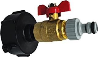 Yoouo regentonnenverbinder Kunststoff IBC Tankadapter S60x6 Gartenschlauch Wasserhahn Anschluss Wassertank Schlauch Ersatzanschluss