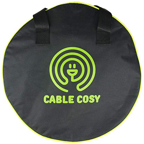 Luigi's - Cable Cosy Bag, for mains cables, caravan, tools, jumper cables and garden equipment. 40 cm in diameter.