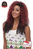 FULL SWISS LACE WIG WITH SILK BASE 4x4, Multi-direction Part FLS05 (1B - OFF BLACK)