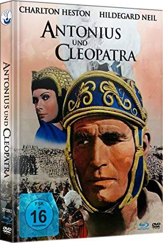 William Shakespeare's Antonius und Cleopatra - Special Edition (Limited Mediabook mit Blu-ray+DVD+uncut Extended Version als OV