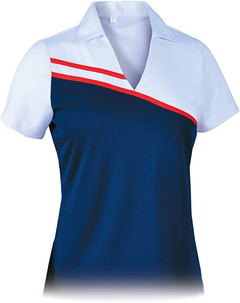 Max 49% OFF Gifts Monterey Club Women's Salute Polo Shirt Colorblock #2303