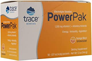 Trace Minerals Research Electrolyte Stamina Power Pak Orange Blast -- Pack of 30