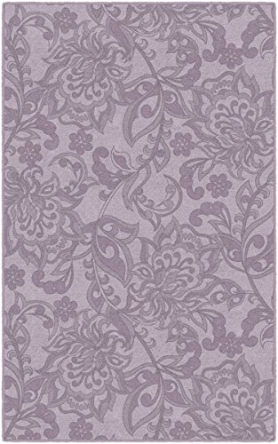Brumlow Mills EW10245-30x46 Jacobean Floral in Lavender Traditional Area Rug, 2'6 x 3'10, Purple