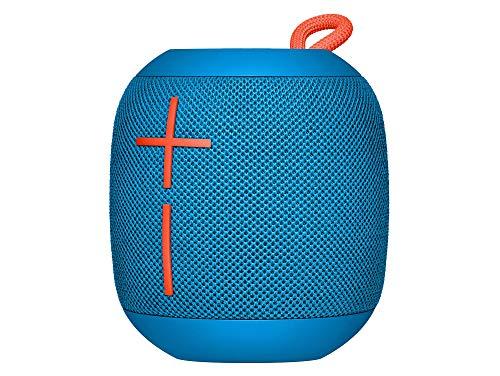 Ultimate Ears Wonderboom Tragbarer Bluetooth-Lautsprecher, Überraschend Starker Sound, Wasserdicht, Verbinde 2 Lautsprecher für Lautstarken Hi-Fi Sound, 10-Stunden Akkulaufzeit - subzero blue/blau