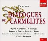 Francis Poulenc: Dialogues des Carmelites (Gesamtaufnahme)