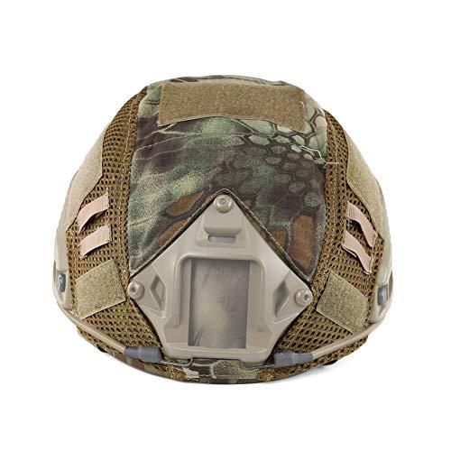 Will Outdoor Tattico Casco Protezione Copertura Paintball Militare Camouflage Copertura Applicata a Fast/MH/PJ Casco Veloce