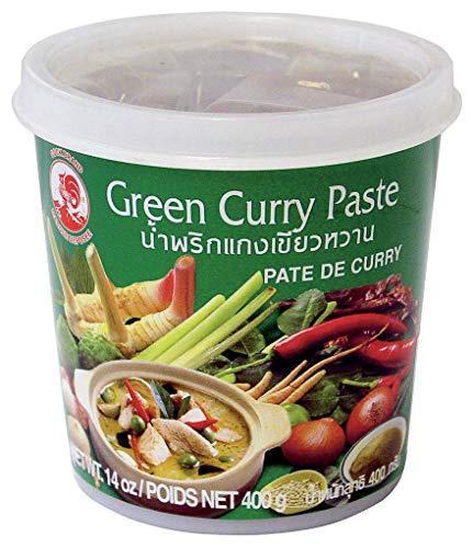 Cock Brand - Pâte de Curry Vert 400G