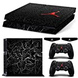 OSMspace Vinyl Skin Sticker Decal Cover for PS4 Playstation 4 System Console and Controllers