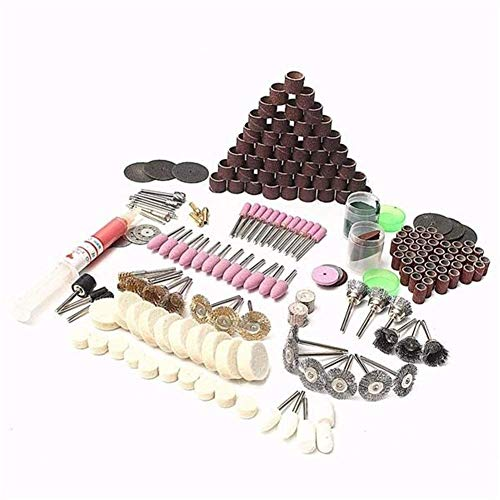 GUONING-L Grinding Wheel Industrial Abrasives 217pcs Rotary Tool Accessory Set Electric Grinding Mill Accessories for Grinding Sanding Polishing Wheel Disc