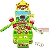 Jouet Enfant Filles Garçons, Jeux Chasse Taupe Mini Jeu Arcade sur Banc de Frappe, Jouets D'activité et De Développement pour Jeu Enfant 3 Ans et Plus Cadeau Fille Garçon Bébé