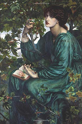 Pre-Raphaelites Notebook: Beautiful Pre-Raphaelites artistic notebook or diary to write in. 6x9 lined featuring artwork of Edward Burned jones & Rossetti The Day Dream