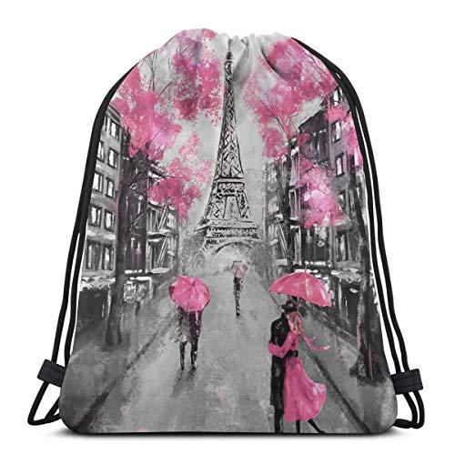 drawstring bags art paris street
