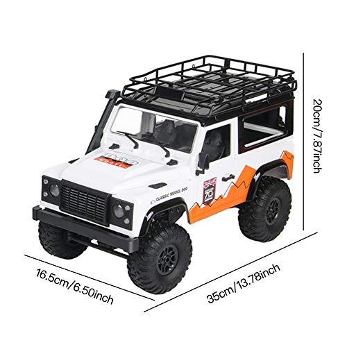 RC Auto kaufen Crawler Bild 5: jinclonder ferngesteuerte Autos, Land Rover Defender Modellauto Anniversary Edition, RC Rock Crawler Buggy, Offroad-Militär-Truck/Allround-Simulationssteuerung*