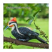 樹脂の鳥の木の装飾屋外ガーデンコートヤードの装飾 (Color : F)