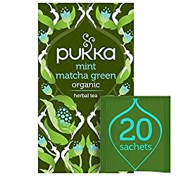 Spearmint as fresh as the wind whistling through your hair A surge of smooth Sencha green, lifted by matcha Made with Field Mint and Spearmint Good news for a refreshing leg-up into the cool of your day Organic and Vegan Naturally Caffeinated