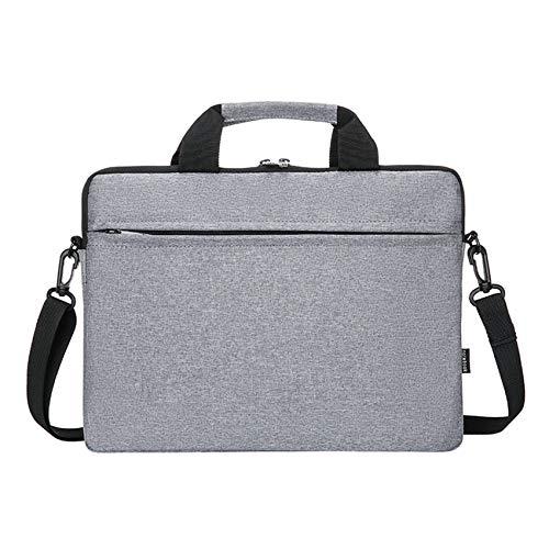 Wivarra 13 InCH LAPtop Handbag for, 13 InCH and Below LAPtops (Gray)