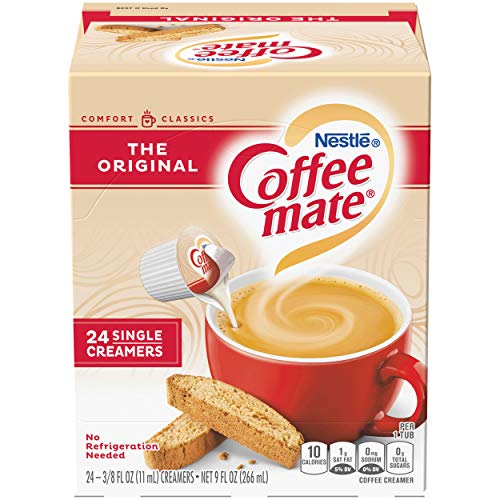 COFFEE MATE The Original Liquid Coffee Creamer 24 Ct. Box | Non-dairy, Lactose Free Creamer