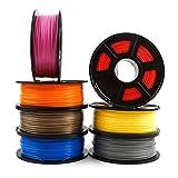 H.Y.FFYH Accessori per stampanti Stampante 3D filamento PLA 1,75 Millimetri 1 kg / 2,2 lb 3D Materiale consumabili plastici 3D filamento USA NatureWorks PLA