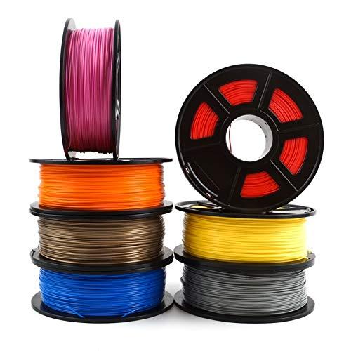 3D Accessoires imprimante MDYHJDHYQ Imprimante 3D Filament PLA 1.75mm 1 kg / 2,2 LB 3D consommables en Plastique matériel 3D Filament Etats-Unis NatureWorks PLA Accessoires imprimante 3D MDYHJDHYQ