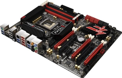 ASRock LGA1155/DDR3/SATA3 USB 3.0/Quad CrossFireX and Quad SLI/A&2GbE/ATX Motherboard Z77 PROFESSIONAL