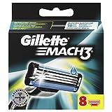 Gillette Mach3Cuchillas de afeitar para hombre, 8unidades