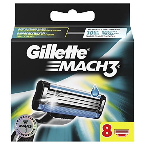 Gillette Mach3 Rasierklingen für Männer 8Stück
