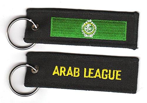 Schlüsselanhänger Arabische Liga Fahne Flagge NEU