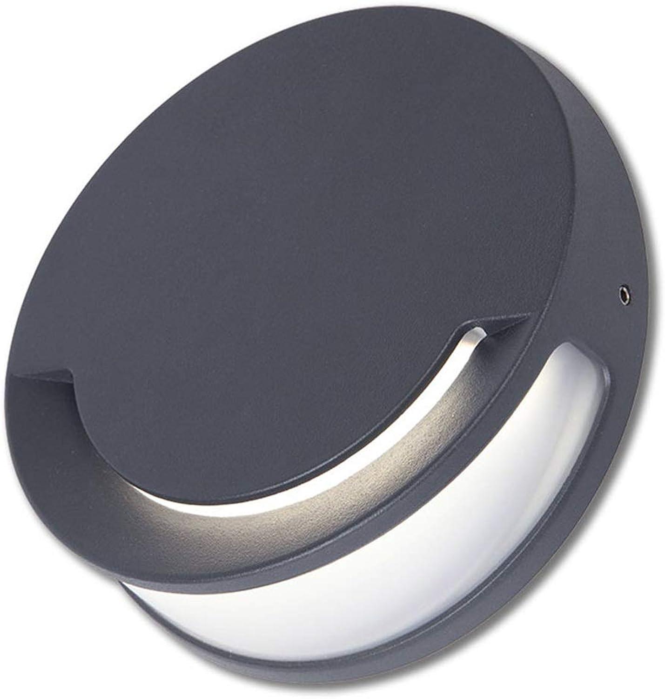 Moderne LED Wandleuchte 9W Wandleuchte IP44 wasserdichte Auenwandleuchte bis hinunter Wandbeleuchtung, warmes Wei