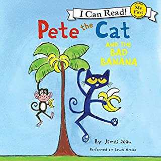 Pete the Cat and the Bad Banana                   Written by:                                                                                                                                 James Dean                               Narrated by:                                                                                                                                 Lewis Grosso                      Length: 4 mins     Not rated yet     Overall 0.0