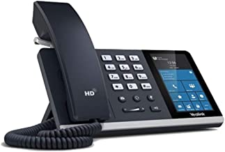 """YEALINK 100-055-003 Mid-Level Android Desk Phone with 4.3"""" Touch Screan (Skype for Business) (PS5V2000US power supply not"""