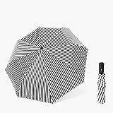 Dlmvkzvg Paraguas Plegable Automático De Metal Resistente A