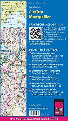 Reise Know-How CityTrip Montpellier: Reiseführer mit Stadtplan und kostenloser Web-App - 2