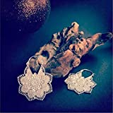 Silberne Ohrringe - Silberne Reifenohrringe - Zigeuner Ohrringe - Stammes-Ohrringe - ethnische Ohrringe - Indische Ohrringe - Erklärung Ohrringe - Kleine Ohrringe - Silberschmuck - Kleine Reifen