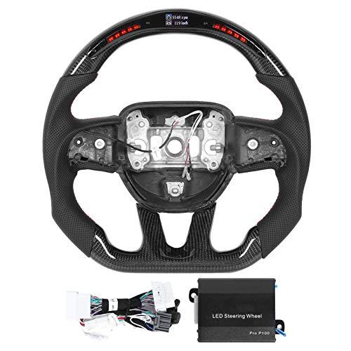 Sunluway for 2015-2020 Dodge Challenger Charger Durango RT /& Scat Pack Steering Wheel Emblem Kit /& Dashboard Badge Trim Interior Accessories Not Fit SRT Version