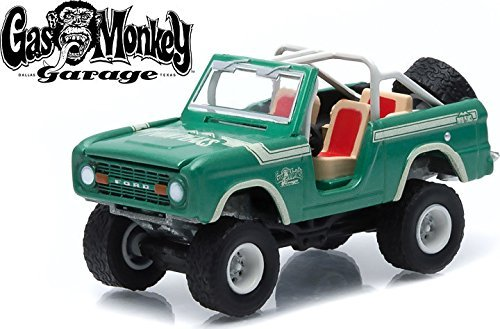 1/64 1976 Ford Bronco Gas Monkey Garage (2012-Current TV Series) Hollywood Series 10 by GreenLight 44700D