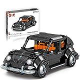 FADY Cochecito deportivo con motor de retorno, set de construcción compatible con Lego Technic, 684 piezas