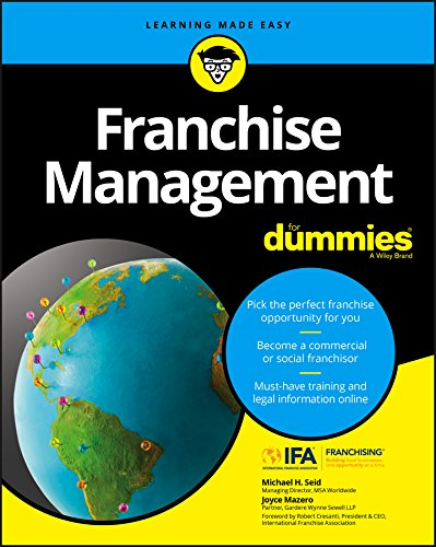 Compare Textbook Prices for Franchise Management For Dummies For Dummies Lifestyle 1 Edition ISBN 9781119337287 by Seid, Michael H.,Mazero, Joyce