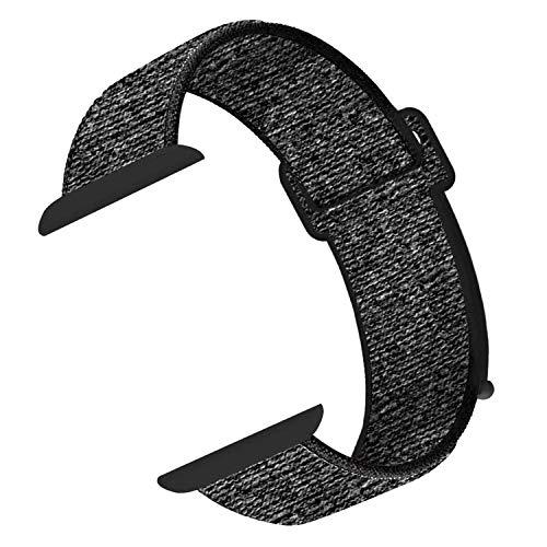 CosyZanx für Apple Watch Armband 38/ 40mm 42/44mm,Gewobenes Nylon Sport Schlaufe Handgelenk Uhrband Ersatz Armreif Uhrenarmband für iWatch Watch Series 1 2 3 4 5