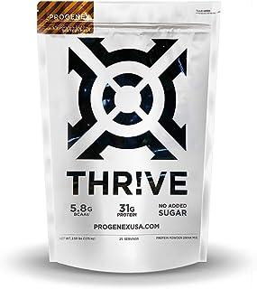 PROGENEX® THR!VE   No Added Sugar, Hydrolyzed Whey Protein Isolate Powder for Fat Burning & Lean Muscle Gain   Best Tastin...