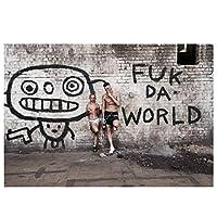 ダイAntwoordラップミュージックグループポスター絵画キャンバス壁アートキャンバスに印刷リビングルームの装飾のための写真家の装飾50x70cmフレームなし