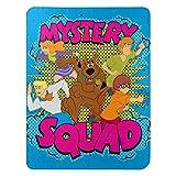 Scooby Doo Mystery Squad Fleece Throw Blanket, 46' x 60'