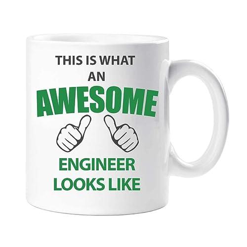 This Is What An Awesome Engineer Looks Like Mug Present Gift Cup Birthday Christmas