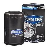 Purolator PBL20252 PurolatorBOSS Maximum Engine Protection Spin On Oil Filter, Black, single filter