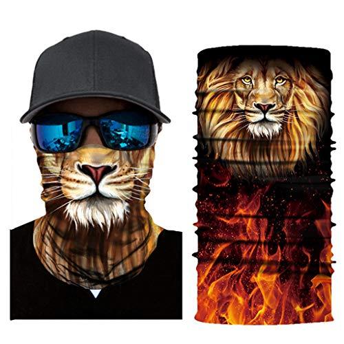 Pany Face Shield Multifunktionstuch Mundschutz Halstuch Sommer Cartoon Bedrucke UV-Schutz Schlauchtuch