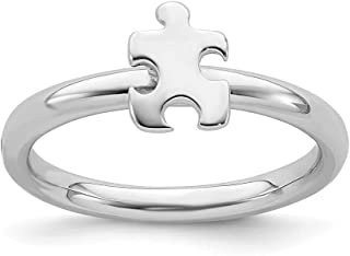 autism awareness jewelry rings
