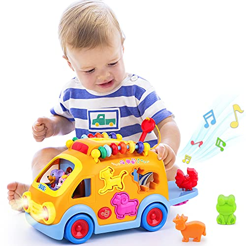iPlay, iLearn Toddler Music Bus Toys,...