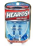 HEAROS Multi-Purpose Reusable Ear Plugs, 4 Pair, Free Case