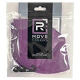 rmove 10 pezzi di mascherine FFP2 colorate Viola Certificate CE mascherina viola ffp2 (Violet, 10 pezzi)