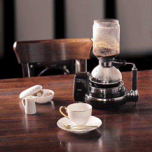 TWINBIRD サイフォン式コーヒーメーカー ダークブラウン CM-D853BR